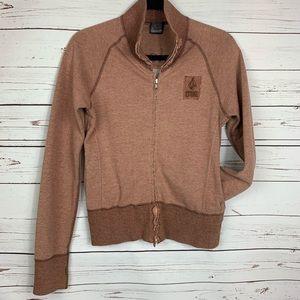 Volcom Stone Grunge Hoodie, Full Zip, Embroidered